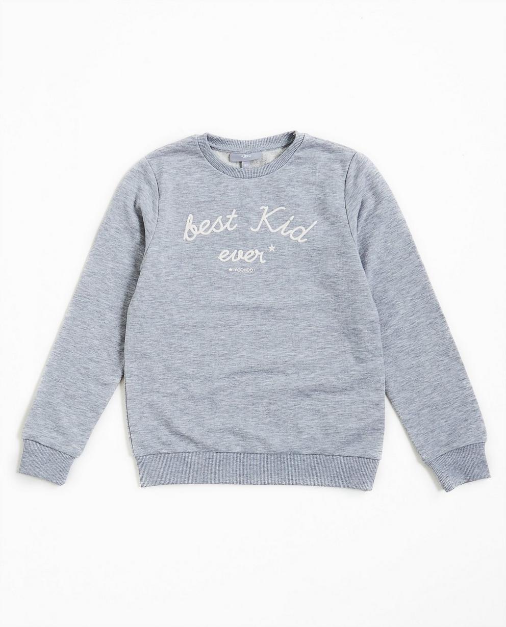 Graues Sweatshirt - #familystoriesjbc - JBC